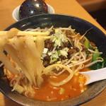 杜記 海鮮火鍋菜館 - 四川担々麺(刀削麺)もちもちアルデンテでスープも絶品✨