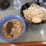 つけめん参城 - 濃厚つけ麺(並)+味玉