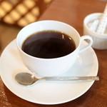 山口果物 - ホットコーヒー (300円) '16 4月下旬