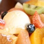 山口果物 - バニラアイス '16 4月下旬