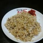 らー麺 たら福 - チャーハン。