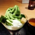 寿月堂 - 抹茶パフェ¥1480
