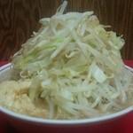 51542447 - ラーメン大(野菜アブラマシマシ ニンニク カラメ)