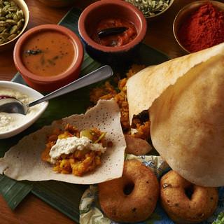 池袋初【南インド料理を楽しむ】