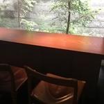 ゼンカフェ - 2016年5月 カウンター席
