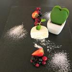 BISTRO RUBAN - 滑らかなチーズをベリーと共に