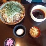 そば処 ひろ - 東京つけそば780円/平成28年5月