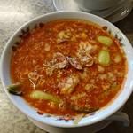 すすり家 - トマトスープ麺