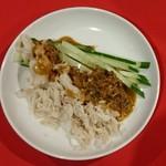 おどるタンタン麺 - 棒々鶏 350円