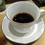 第六吾妻 - 「ビーフシチューランチ」コーヒー