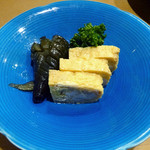 第六吾妻 - 「ビーフシチューランチ」玉子焼きと茄子