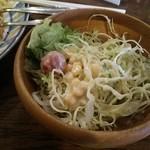 カンパーナ - ランチのサラダ
