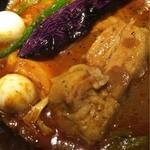 ラマイ - ポークは角煮が5つも!!トロトロ美味しい(≧∇≦)