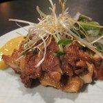 達屋 - 鶏の照り焼き味噌マヨダレ ¥780