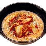 くるまやラーメン  - キムチ味噌ラーメン