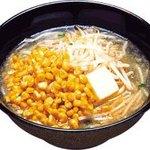 くるまやラーメン  - 塩バターコーンラーメン