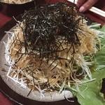 たぬき - 大根サラダ