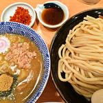 51550745 - 特製つけ麺+シュリンプ+辛み
