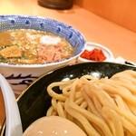 51550749 - 特製つけ麺+シュリンプ+辛み
