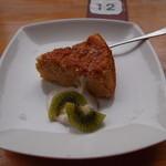 ギャラリー ぽっぽ - 豆腐のチーズケーキ