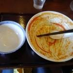節系とんこつらぁ麺 おもと - 勿論・・!とか言いながら、実は結構、大変でした・・。