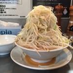 らーめん大 - 野菜増し増し(^^)