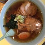 茶い那 - ラーメン580円