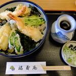 福寿庵 - 料理写真:海鮮ぶっかけ