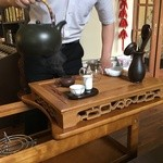 中国茶Jasmine - ドリンク写真:美しい所作