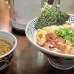 市屋麺 - 塩つけめん 味玉つき