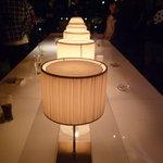 マース・マース - ☆店内中央にあるテーブルは照明もGood!!(*^。^*)☆