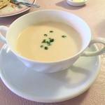 シェモア - ジャガイモのスープ これが一番良かった