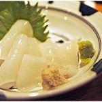 あぜくら - 料理写真:白イカ刺し。旨味めっちゃ濃いです。