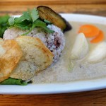 ゆっくりとカフェ - 野菜たっぷり世田谷カレー