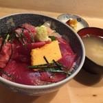 割烹 和知 - 鉄火丼