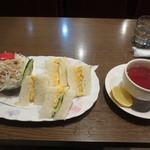 珈琲パパー - モーニング Cセット 500円 (2016.4)