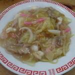 山笠 - 料理写真:名物皿うどん。