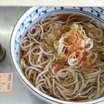 信州蕎麦処 しなの - かけそば280円。安いです。