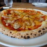 ポロポロ - ピッツァランチ(1680円)のイベリコ豚となすのチリトマト
