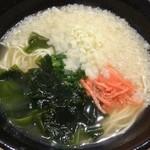 Sette - 紀伊麺(てんかけラーメン)