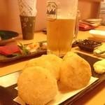 きせつ屋 ひだまり - さっぱり系の揚げ物、長芋の唐揚げ