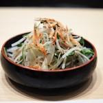 うなぎ藤田 - 和風サラダ