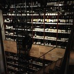 51565837 - 2階から見下ろすワインの壁