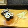 朝寿司国領 - 料理写真:サビ入りカンピョウ巻