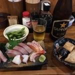 魚河岸えびす - 料理写真:えびすセット+追加料金150円