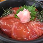 小川港魚河岸食堂 - まぐろ漬け丼¥880