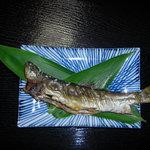 ひいらぎ屋 - 季節により天然の岩魚がメニューに並びます