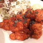 Cafe & Kitchen 米米食堂 - 米米名物のアゲ揚げ鶏唐
