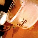 ブッフェダイニング クリスタル - ビールはアサヒスーパードライ♪