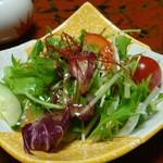 広瀬館 - 朝食:サラダ